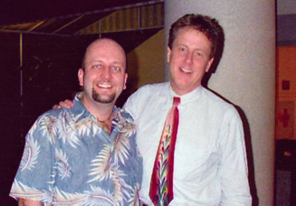 Harry Anderson from Night Court with Al The Only