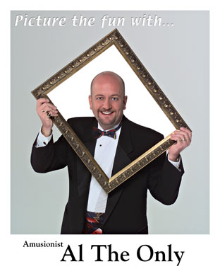 comedy magician, corporate entertainer Al The Only