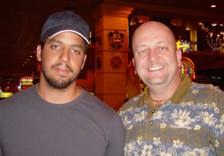 David Blaine with Al The Only